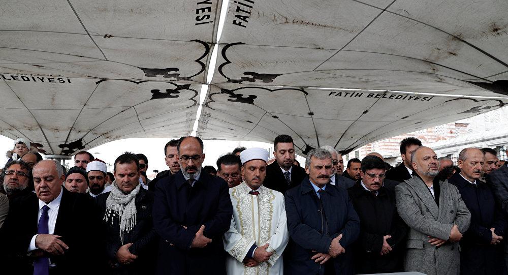 صلاة الغائب على روح جمال خاشقجي في مسجد الفاتح