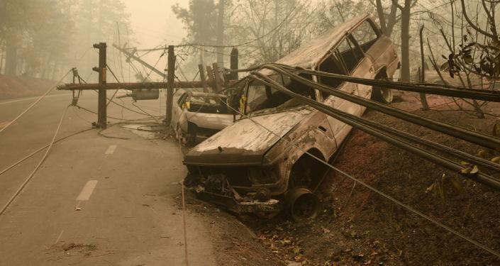 آثار حريق كاليفورنيا، 10 نوفمبر/ تشرين الثاني 2018