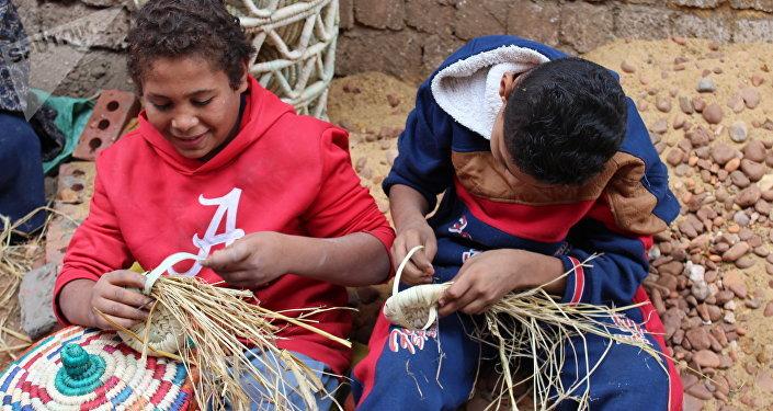 صناعة الخوص في مصر
