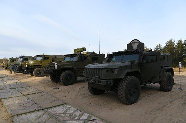 عربات مدرعة روسية
