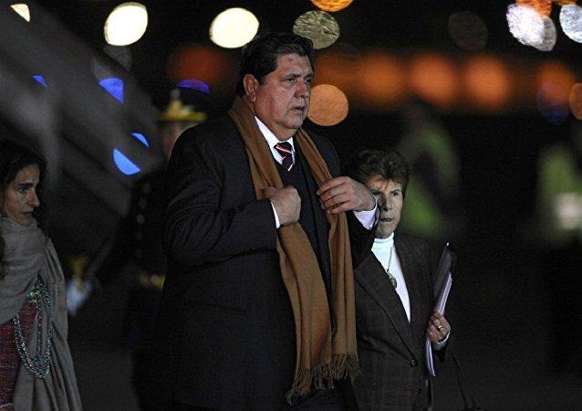 الرئيس السابق للبيرو ألان غارسيا