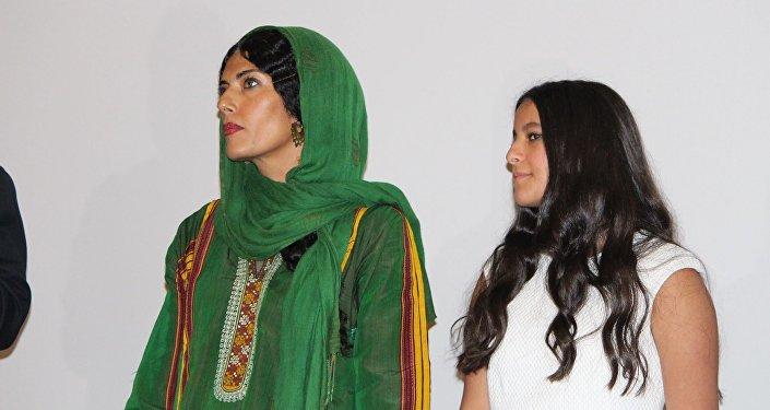 أبطال الفيلم السعودي عمرة والعرس الثاني المشارك في مهرجان القاهرة السينمائي