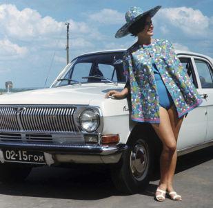 دعاية السيارة السوفيتية فولغا (غ أ ز - 24)