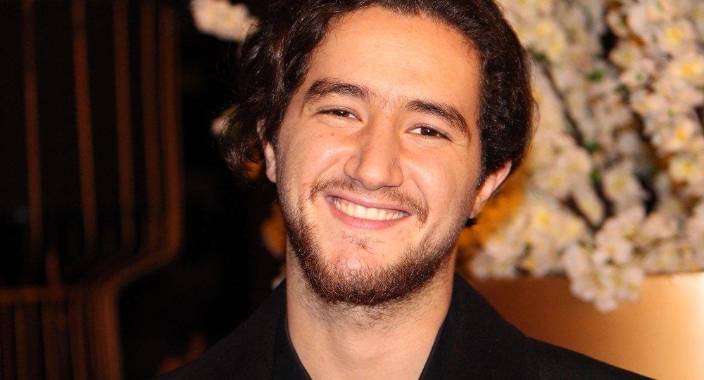 الفنان المصري أحمد مالك
