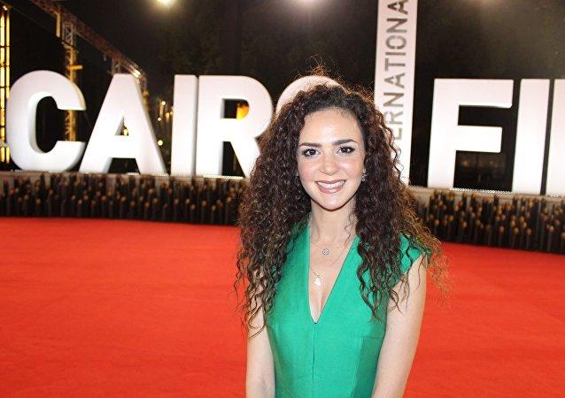 الفنانة الأردنية ركين سعد