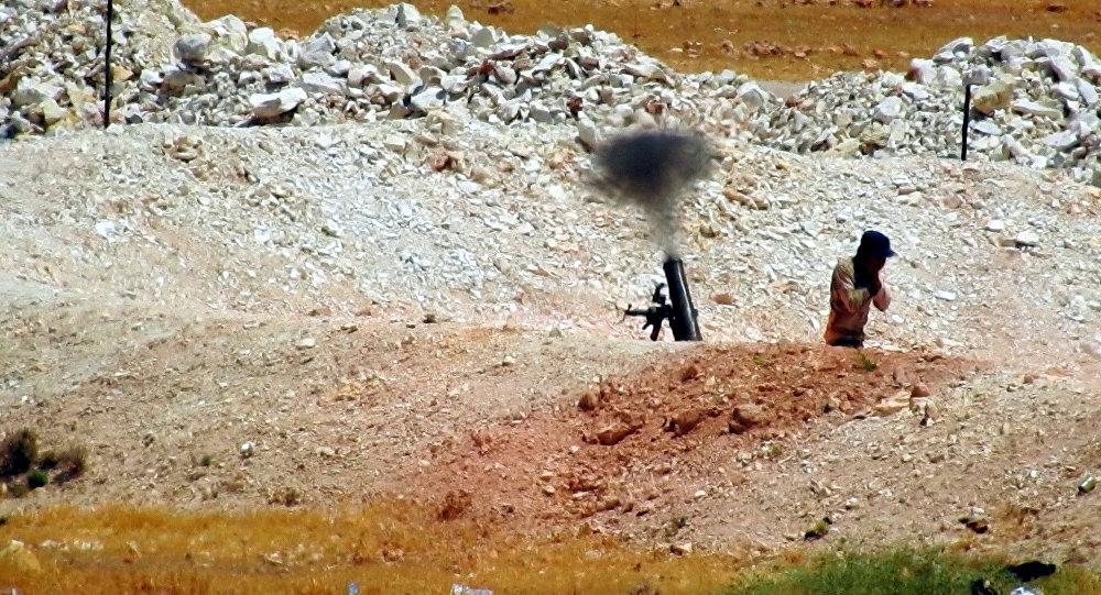 جبهة النصرة تنشر 50 من صواريخ الكيميائي المعدلة على جبهات إدلب