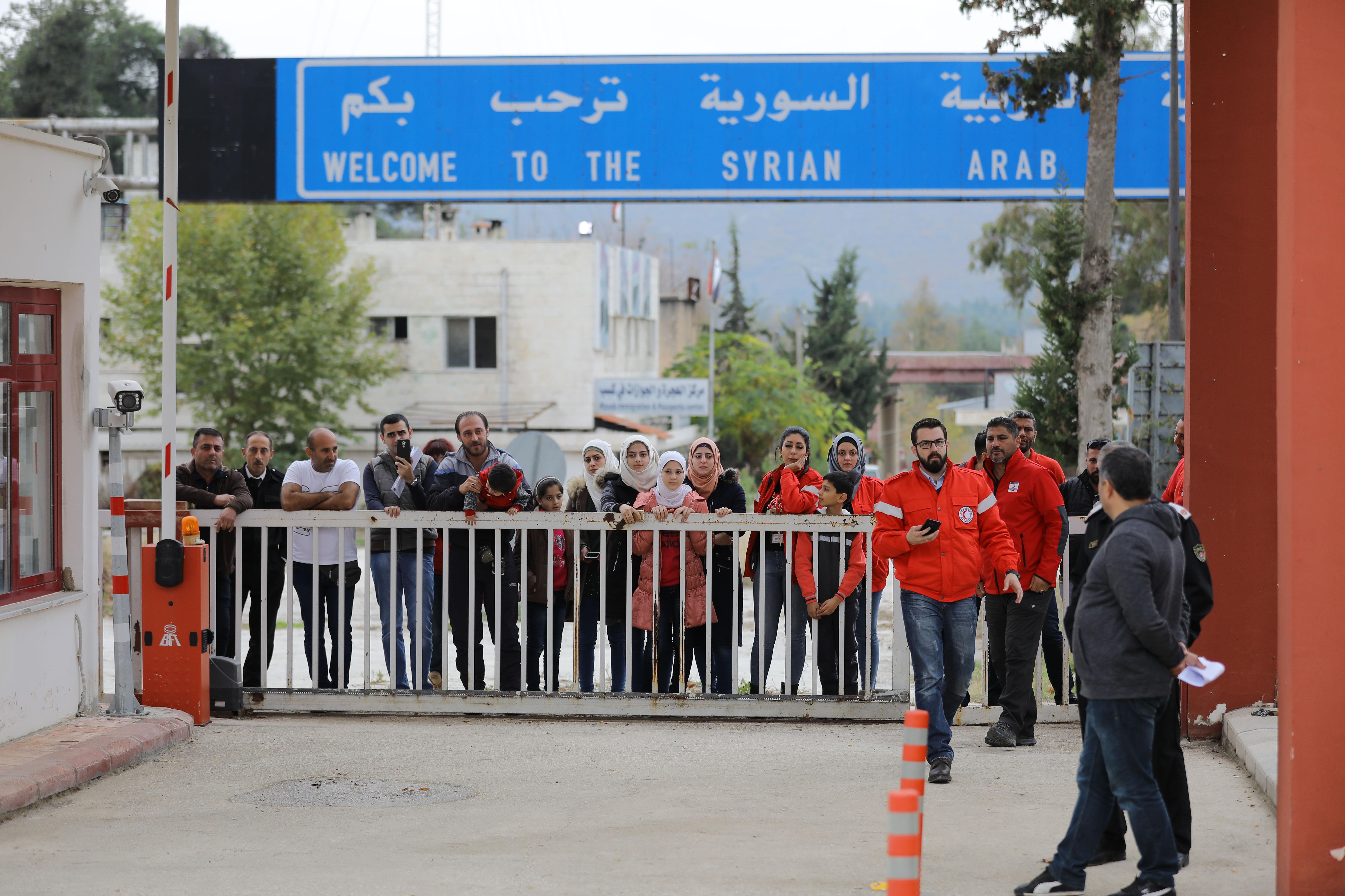 معبر كسب الدولي الحدودي بين سوريا وتركيا Илаф