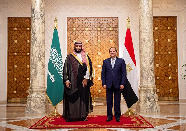 السيسي وبن سلمان في القاهرة