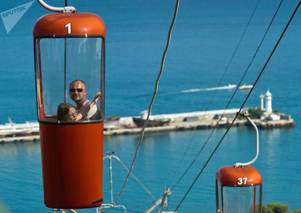 تلفريك يالطا - غوركا في يالطا