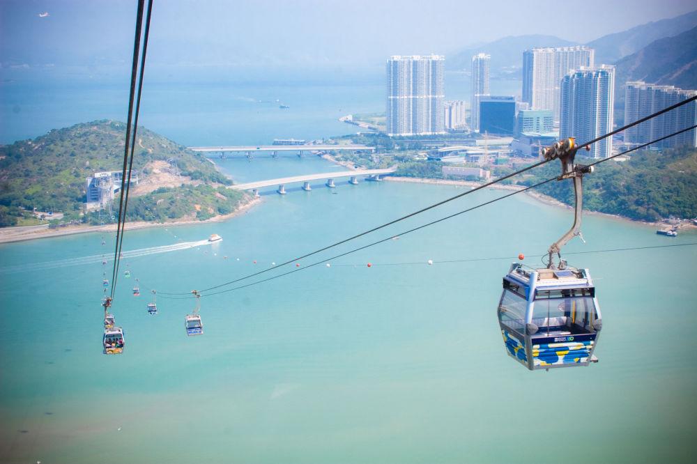 تلفريك نغونغ بنغ في هونغ كونغ