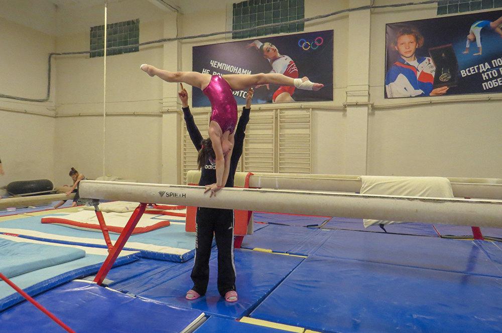 الرياضية الصغيرة الروسية فيكتوريا غورباتشوفا