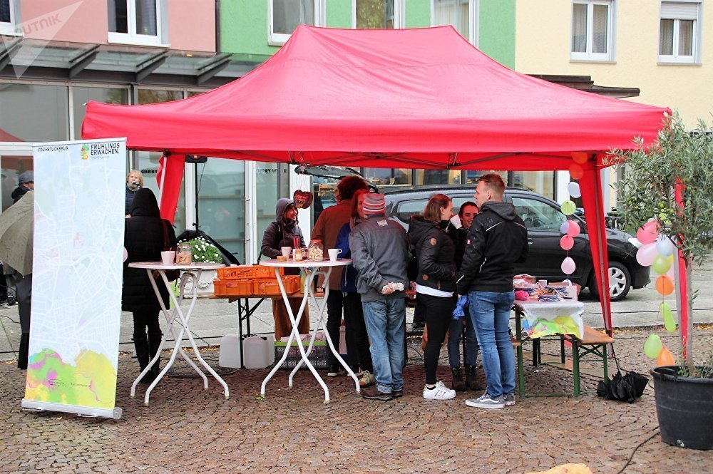حملة ضد الاتجار بالبشر عالميا في ألمانيا