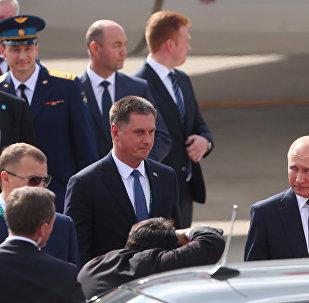 قمة مجموعة العشرين - G 20 - وصول الرئيس الروسي فلاديمير بوتين إلى العاصمة الأرجنتينية بوينس آيرس، 30 نوفمبر/ تشرين الثاني 2018