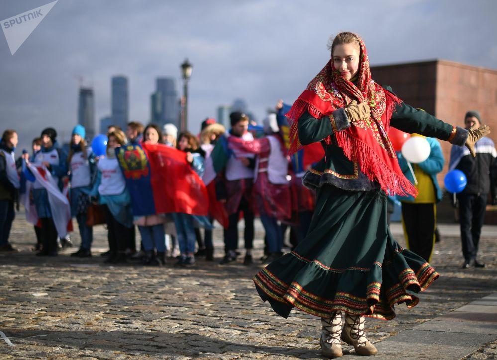 احتفالات في العاصمة موسكو بمناسبة يوم الوحدة الوطنية