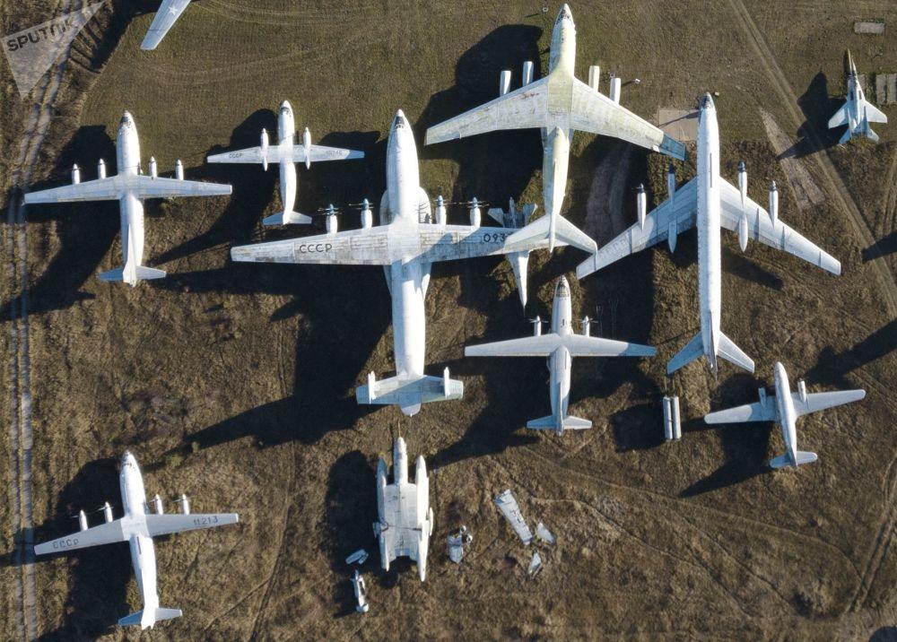 متحف مونينو للطائرات الروسية في مونينو بضواحي موسكو