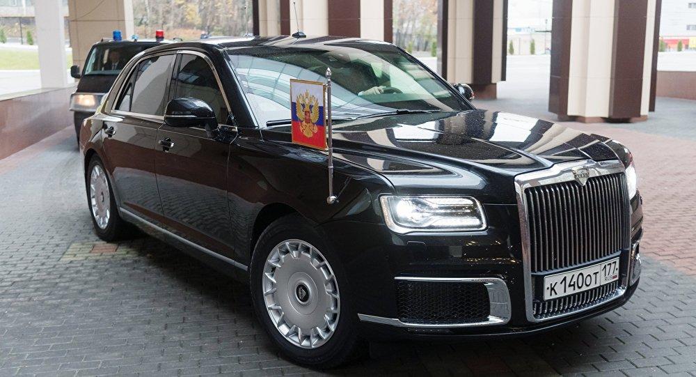 سيارة فلاديمير بوتين كورتيج