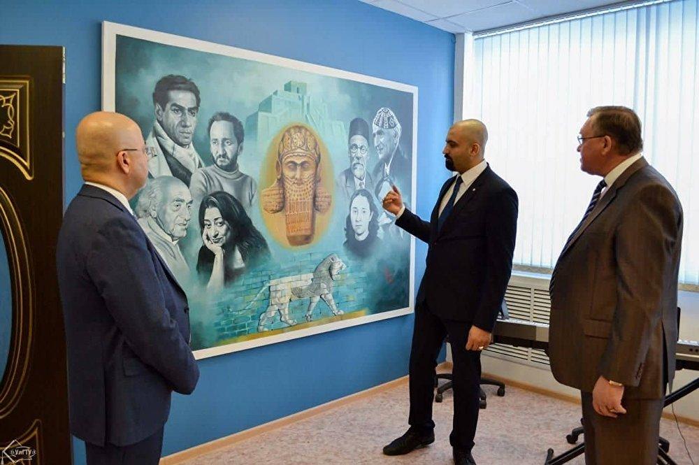 افتتاح مركز ثقافي عراقي في مدينة أوليانوفسك الروسية