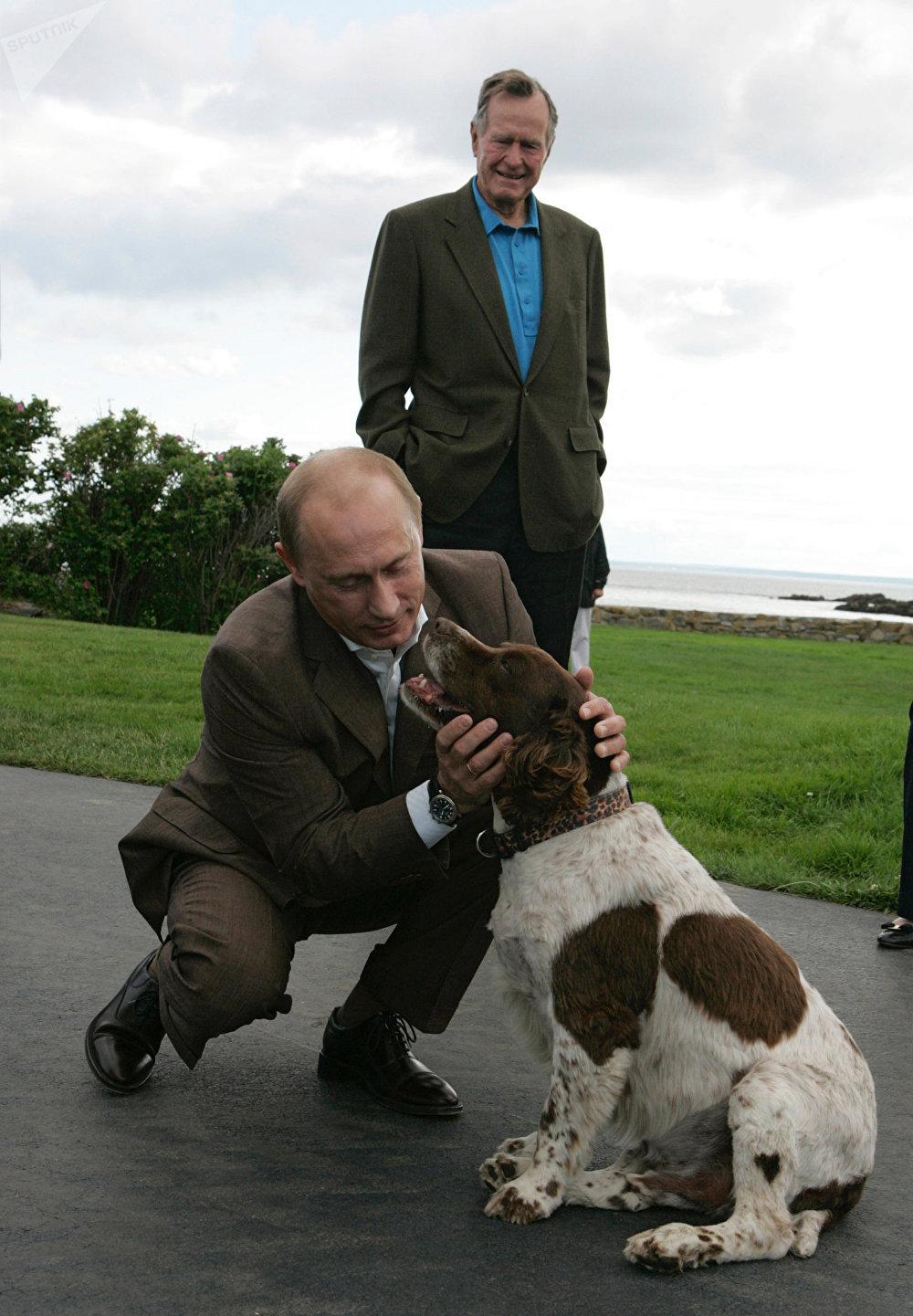 جورج بوش وفلاديمير بوتين