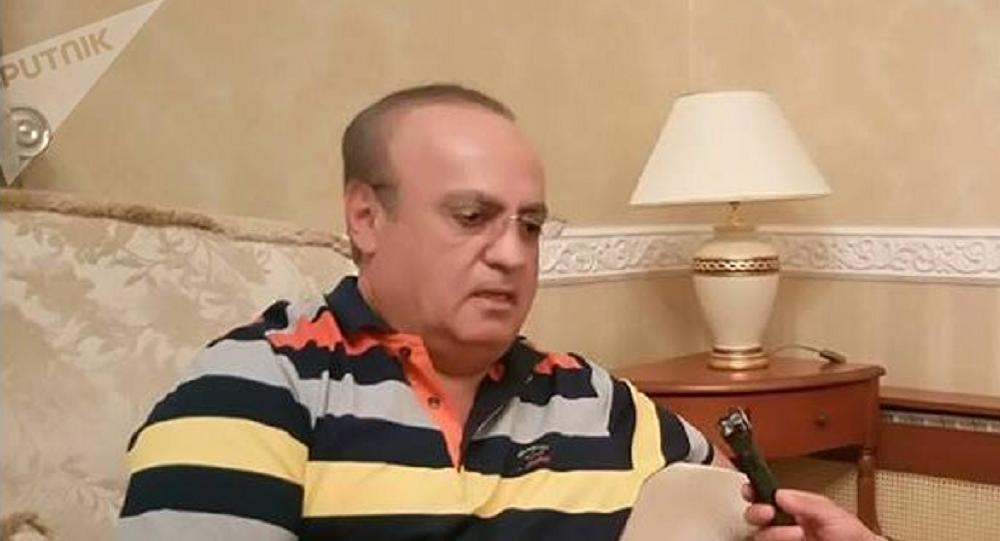 رئيس حزب التوحيد وئام وهاب