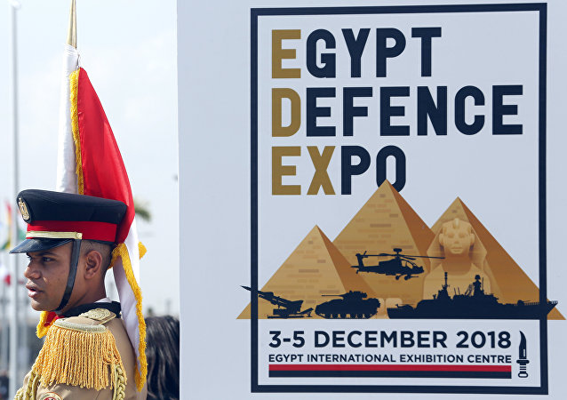 معرض إيديكس 2018 في القاهرة، مصر 3 ديسمبر/ كانون الأول 2018