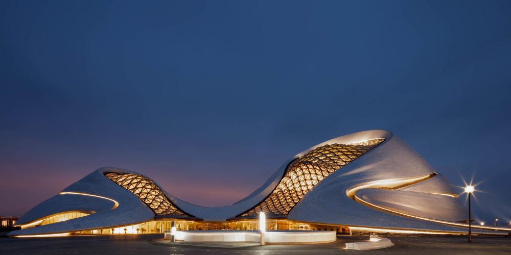صورة لدار الأوبرا الصينية في هاربن، الفائزة في فئة بورتفوليو بالمسابقة