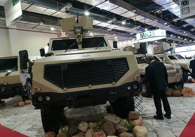 أسلحة سعودية في إيديكس 2018