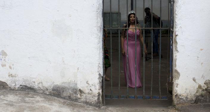 مسابقة ملكة جمال السجون تالافيرا بريوس في البرازيل، 4 ديسمبر/ كانون الأول 2018 - ملكة الجمال السجون السابقة (لعام 2017)