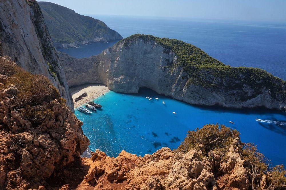 خليج مدينة زاكينثوس اليونان