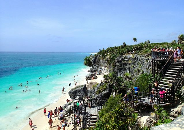 شاطئ تولوم، المكسيك