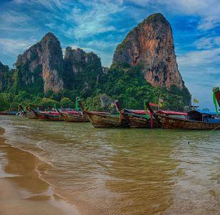 شاطئ رايلي، تايلاند
