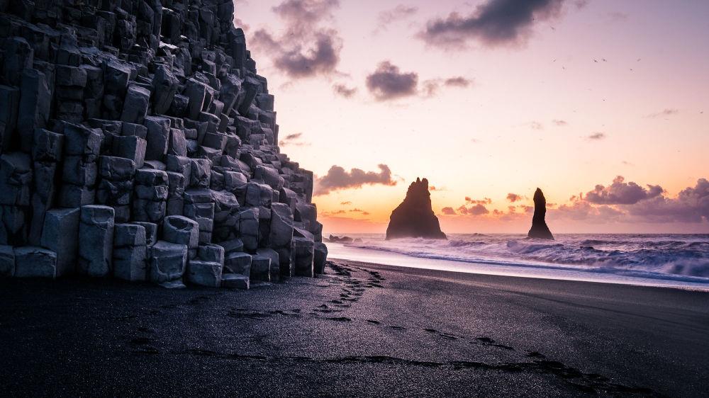 شاطئ راينفيس جارا، آيسلندا