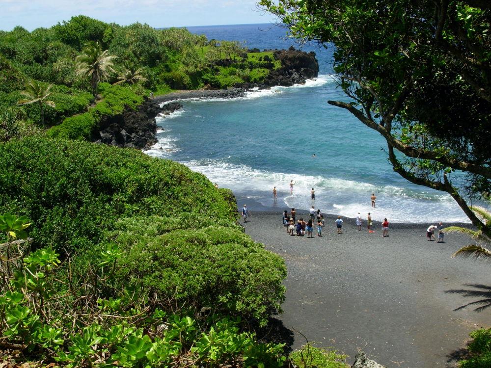شاطئ هونوكالاني، في جزيرة ماوي