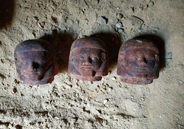 مقبرة الأمير واجي بمدينة الفيوم المصرية