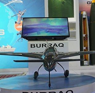 طائرة البراق الباكستانية في إيديكس 2018