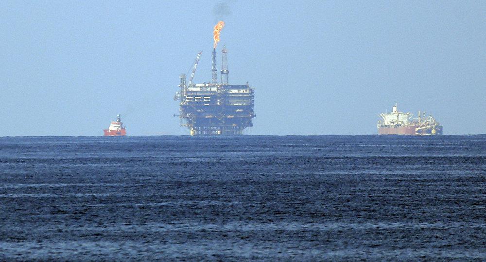 حقل الغاز الطبيعي قبالة مصر