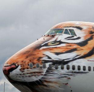 طائرة لشركة الطيران روسيا