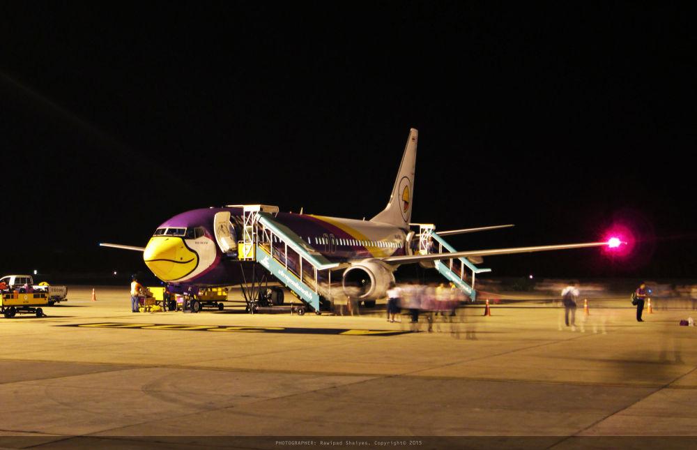 طائرة لشركة الطيران Nok Air Nok Om Yim التايلاندية