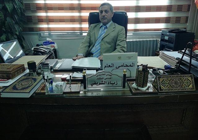 المحامي العام بإدلب القاضي زياد الشريفي