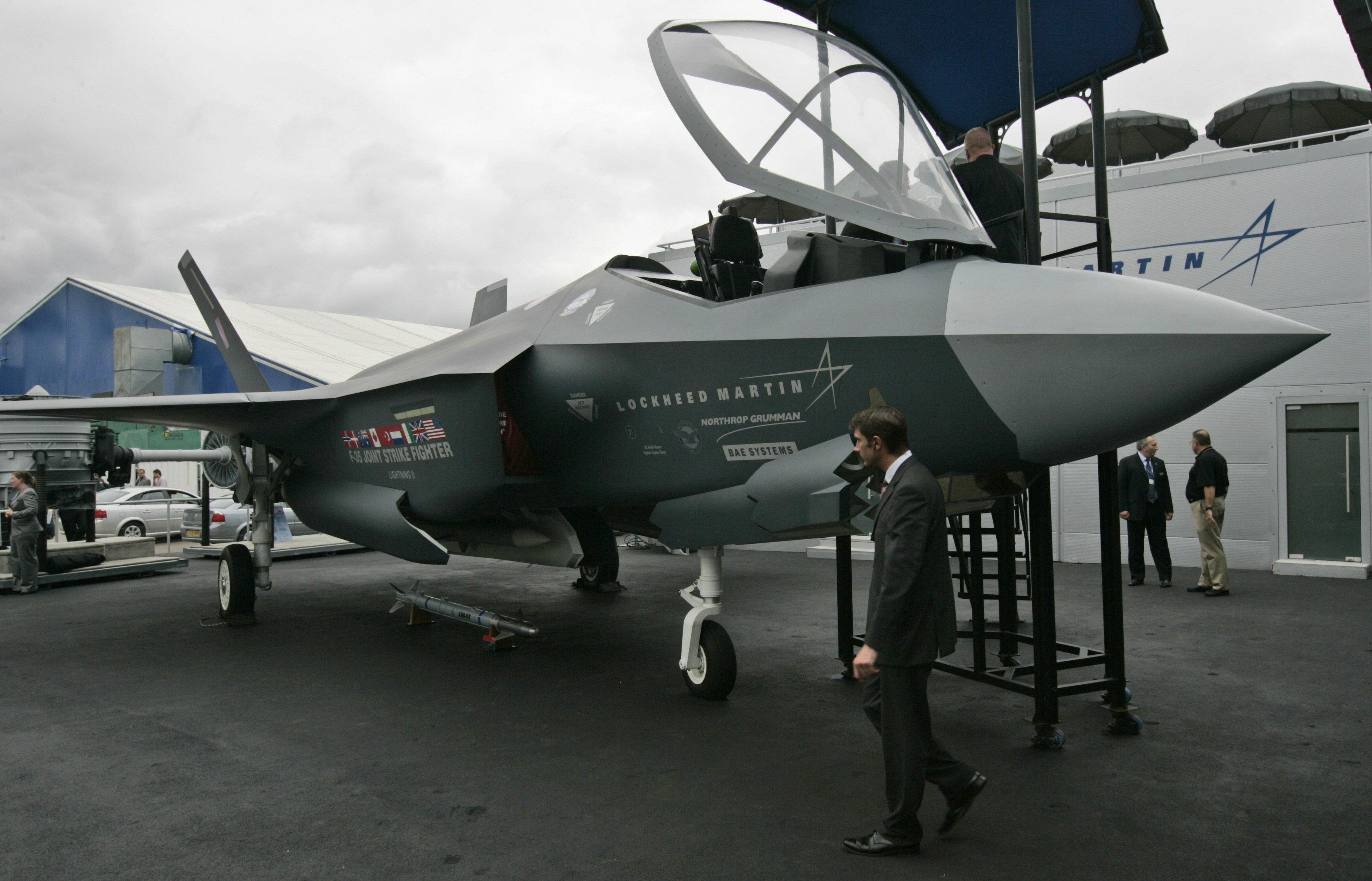 مقاتلة  إف - 35