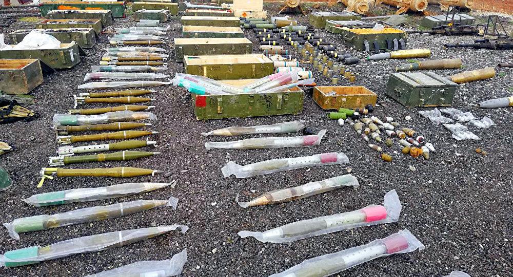 الأمن السوري يضبط صواريخ ضخمة ضمن أنفاق حدودية مع الأردن