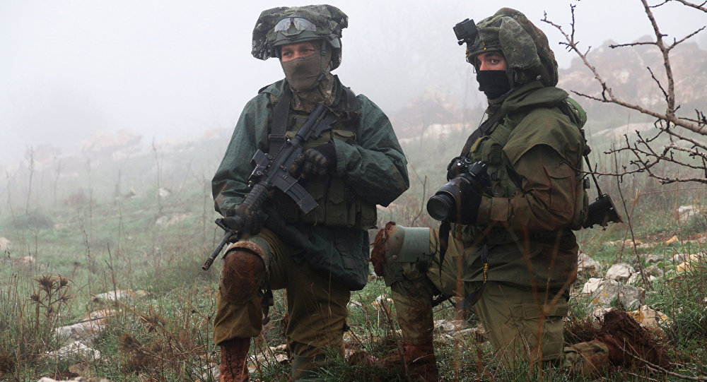 الجيش الإسرائيلي - ميس الجبل، الحدود بين لبنان و إسرائيل، 9 ديسمبر/ كانون الأول 2018