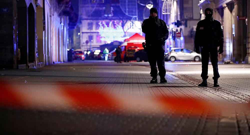 أحداث هجوم ستراسبورغ - الشرطة الفرنسية، فرنسا 12 ديسمبر/ كانون الأول 2018