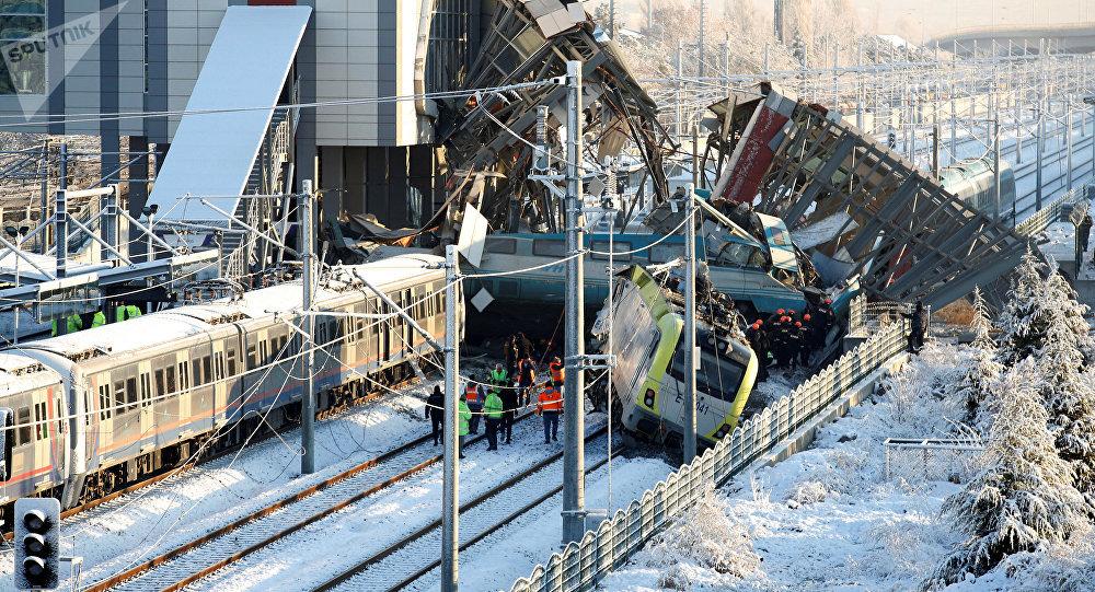 حادث القطار السريع في أنقرة