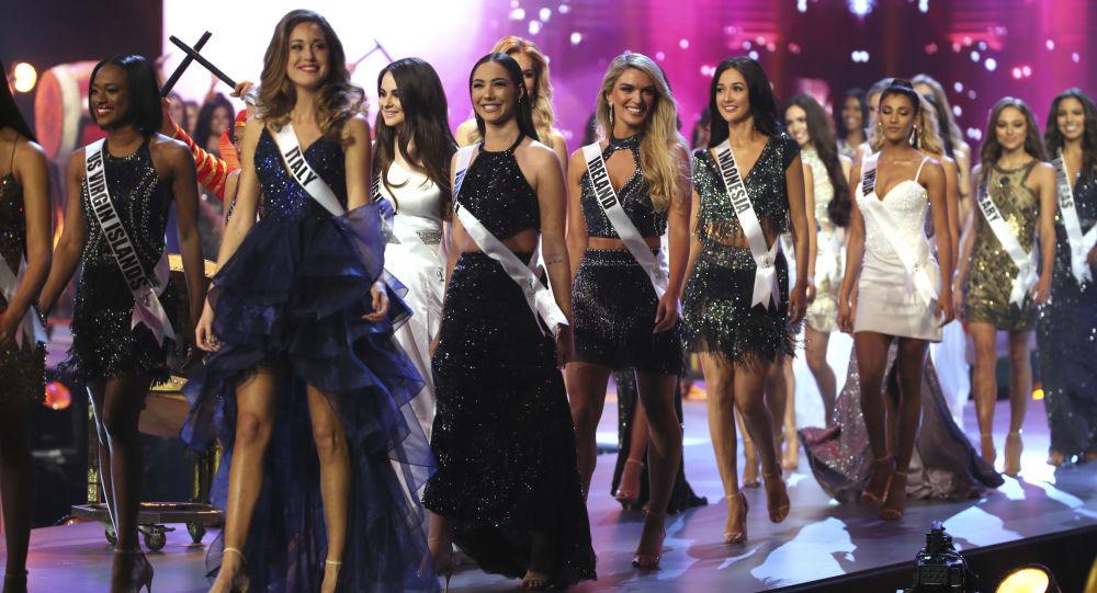 المشاركات في مسابقة ملكة جمال الكون لعام 2018 في بانكوك، تايلاند 17 ديسمبر/ كانون الأول 2018