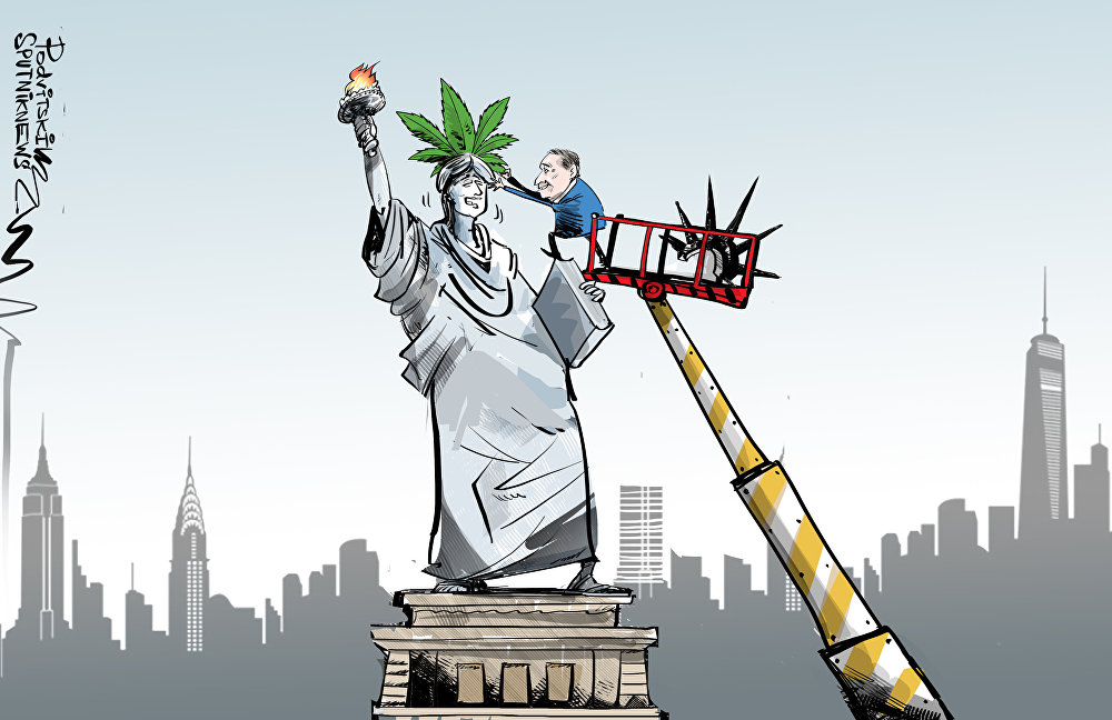 محافظ نيويورك وعد بتشريع الماريجوانا في العام المقبل