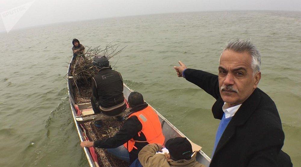 الناشط البيئي في محافظة ميسان، أحمد صالح نعمة