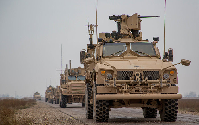 حكومة الأنبار: قوة أمريكية تتحرك باتجاه سوريا دون معرفة الدوافع