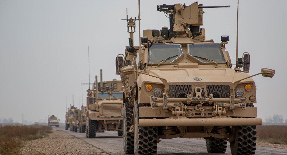 قوات الجيش الأمريكية في دير الزور، سوريا 22 نوفمبر/ تشرين الثاني 2018