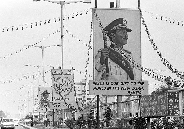 الرئيس المصري محمد أنور السادات