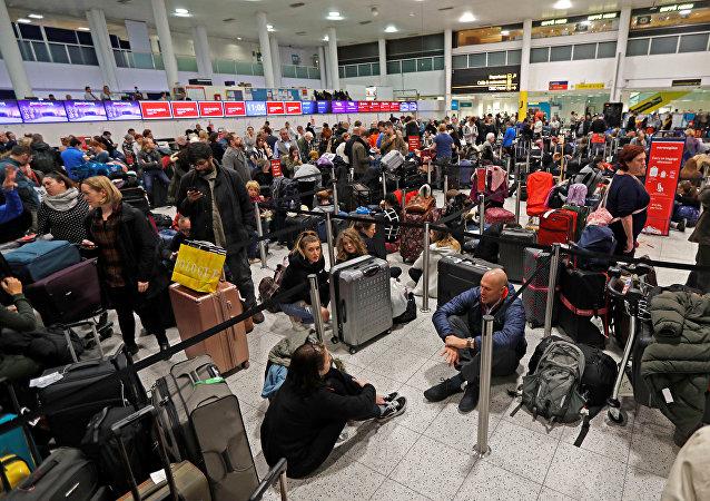 فوضى مطار جاتويك